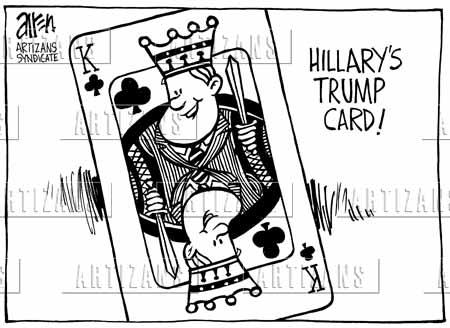 Trump Card King Trump Card is 'king' Bill
