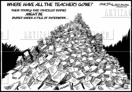 Artizans - Image Information: Poorly paid teachers buried under ...
