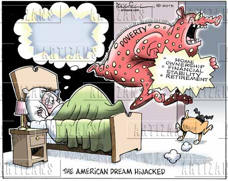 american dream reality or a dream American dream: reality or a dreamby maria algarra do you think the american dream still provides to the poor, tired, and huddle masses i think america still provides access to everybody who steps foot on this country.