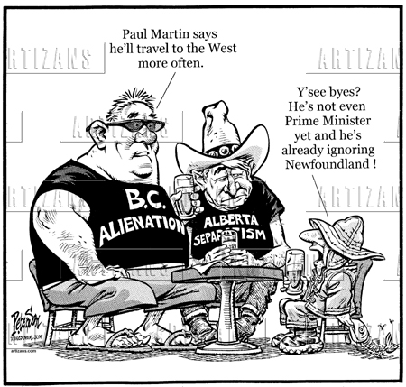 western alienation He also sees a cross-country ripple effect occurring as a result of ottawa's actions on trans mountain that will impact federal-provincial relations and spark a new era of western alienation.