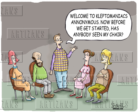 Kleptomania is not